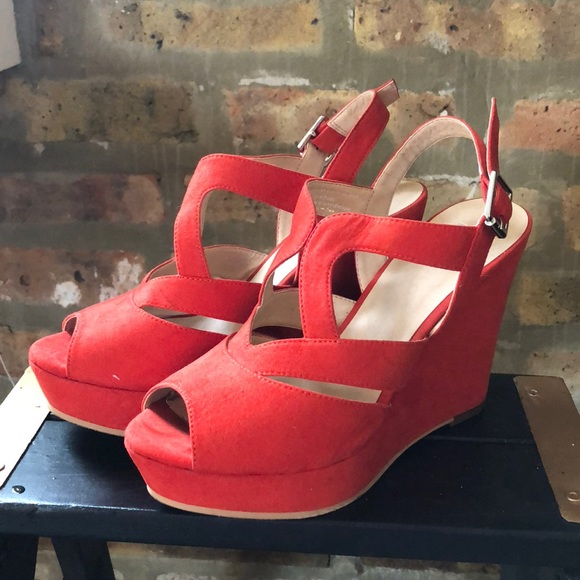 0628c8e435 bp Shoes | Sunny Platform Wedge Sandal | Poshmark